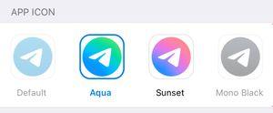 Новые иконки приложения