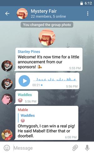 Новый дизайн для Android