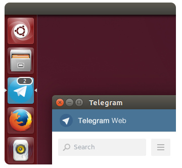 Telegram для Ubuntu