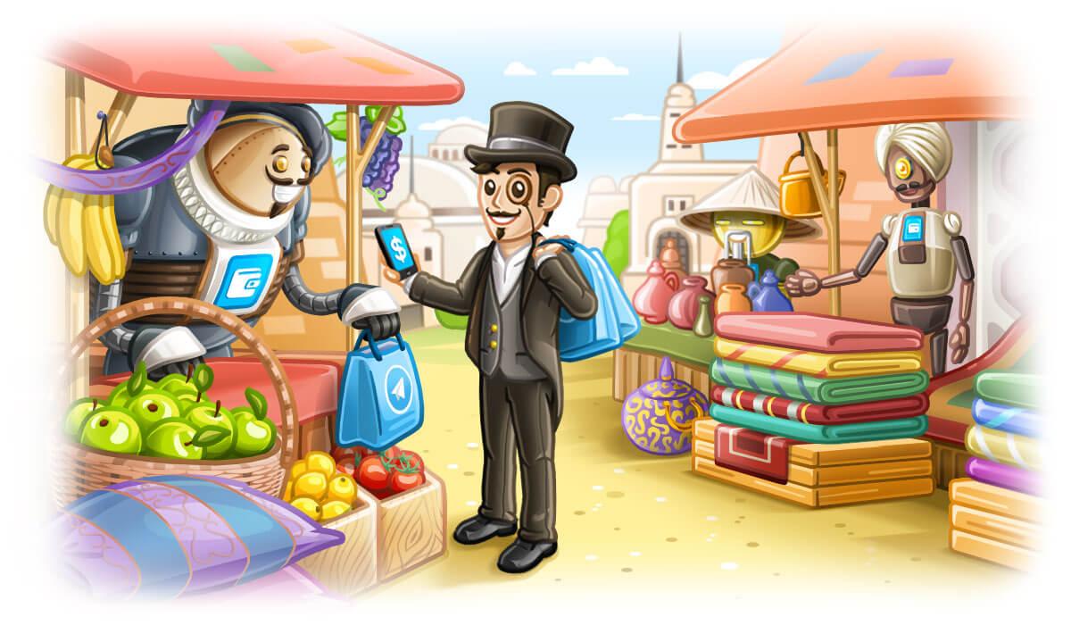 Платежи в Telegram